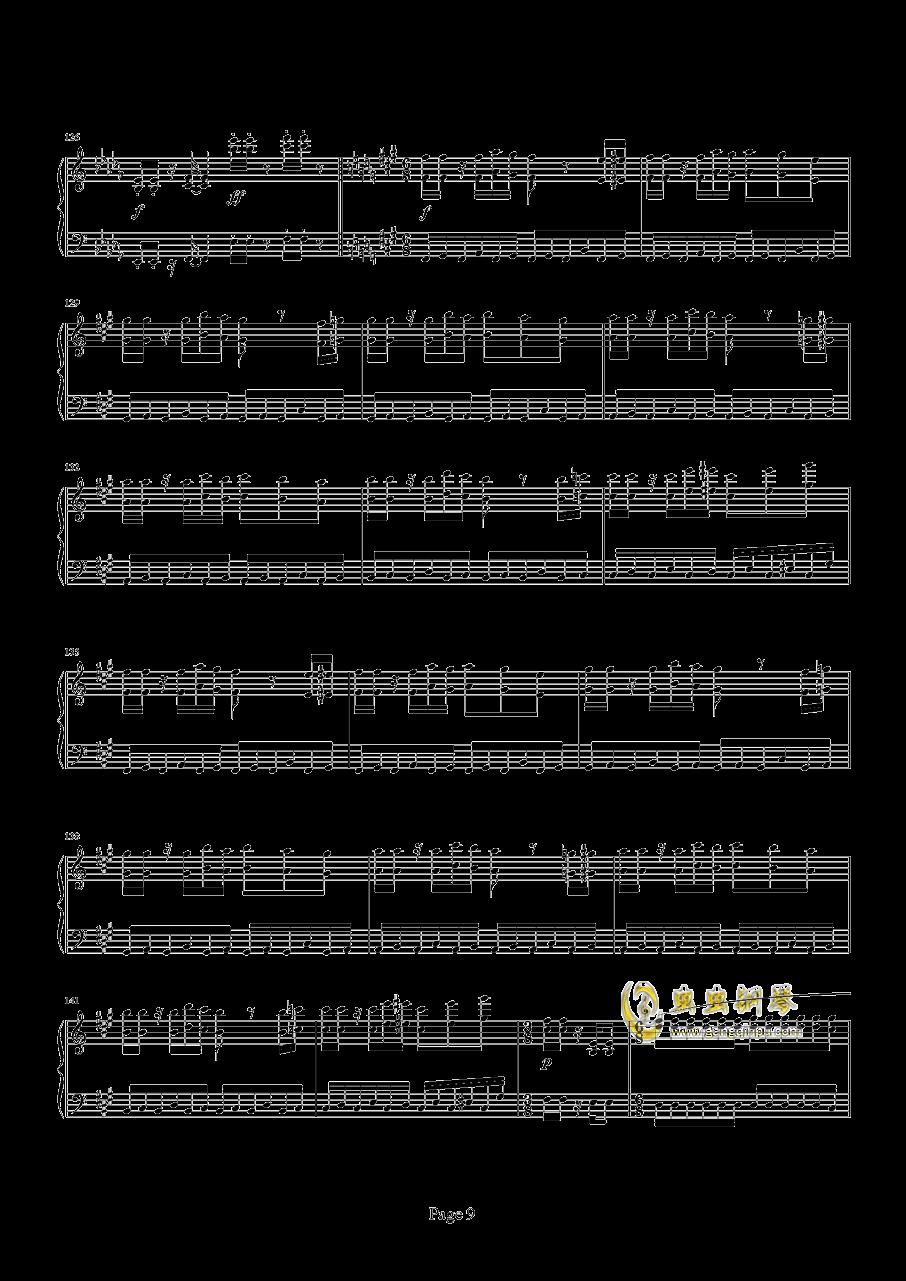魂斗罗钢琴谱 第9页