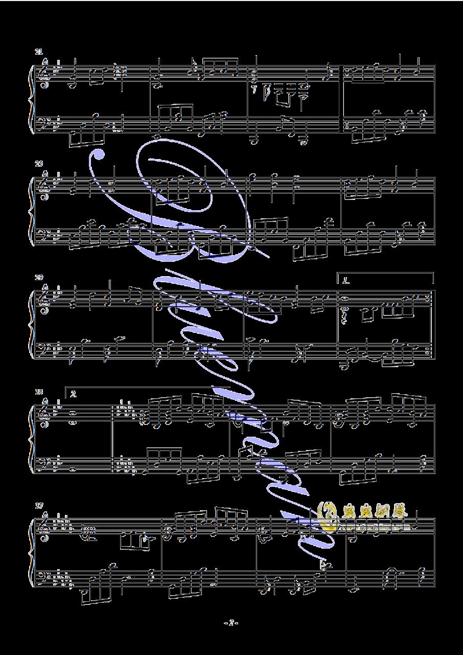 Snowdream钢琴谱 第2页