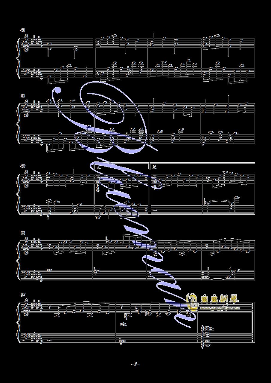 Snowdream钢琴谱 第3页