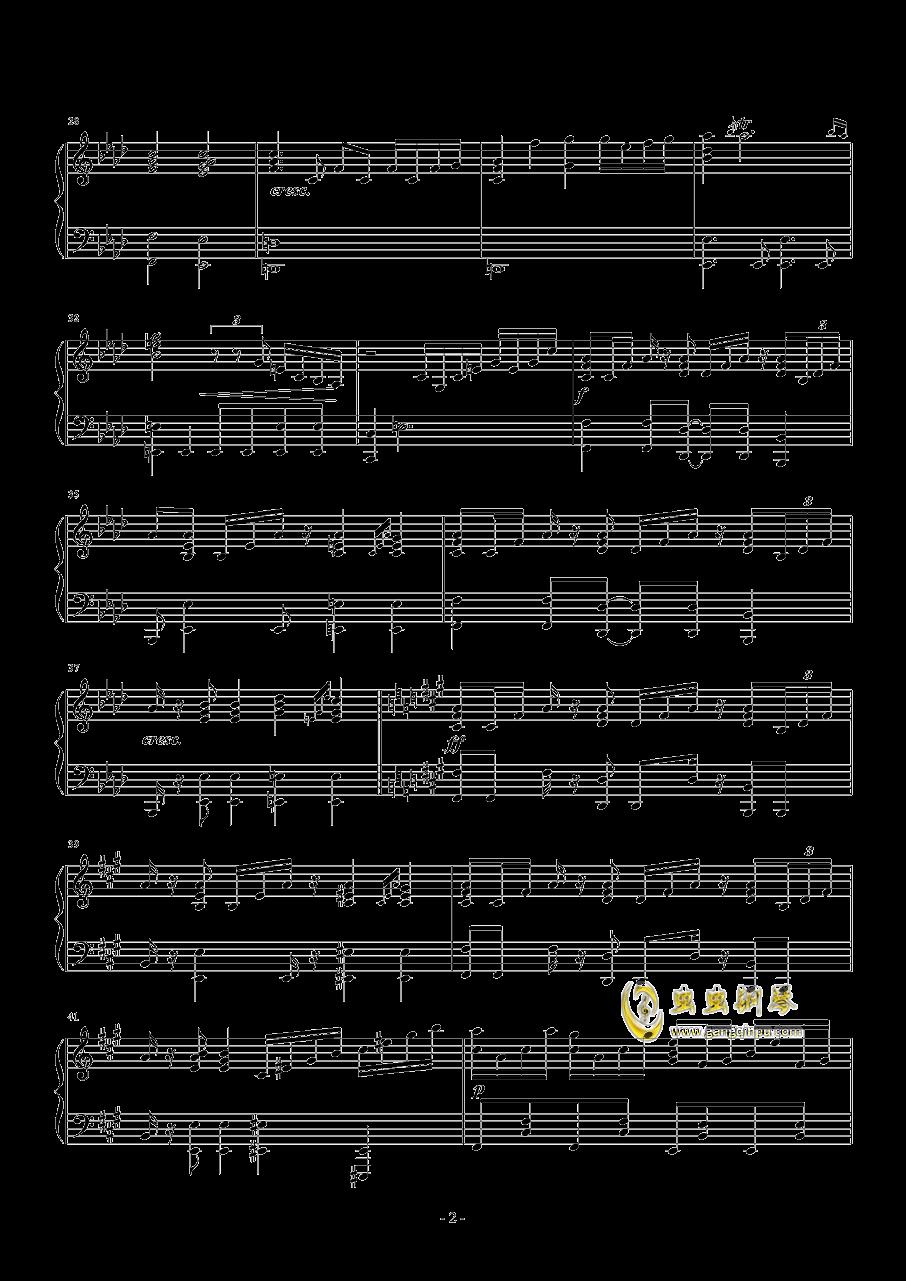 ANiMA钢琴谱 第2页