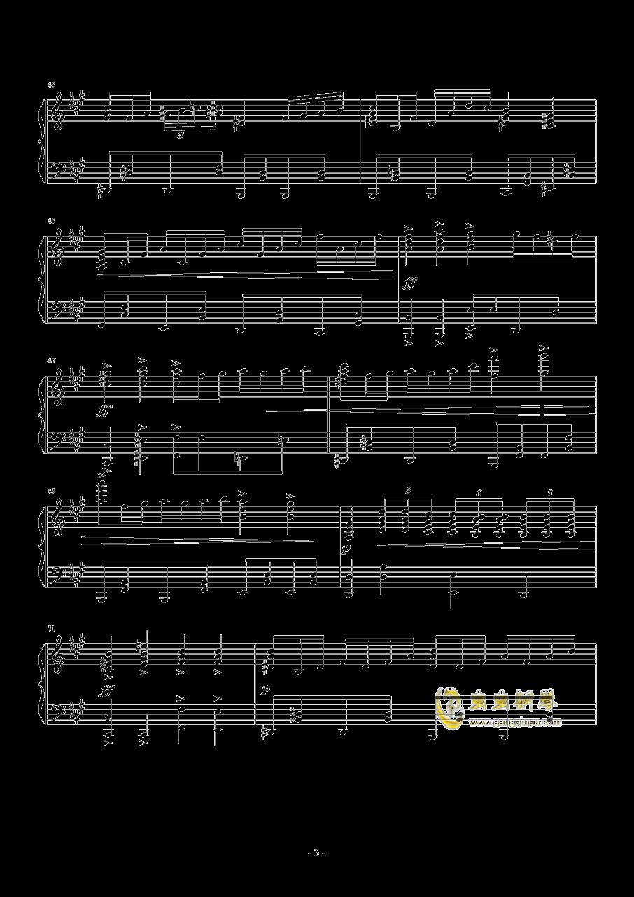 ANiMA钢琴谱 第3页