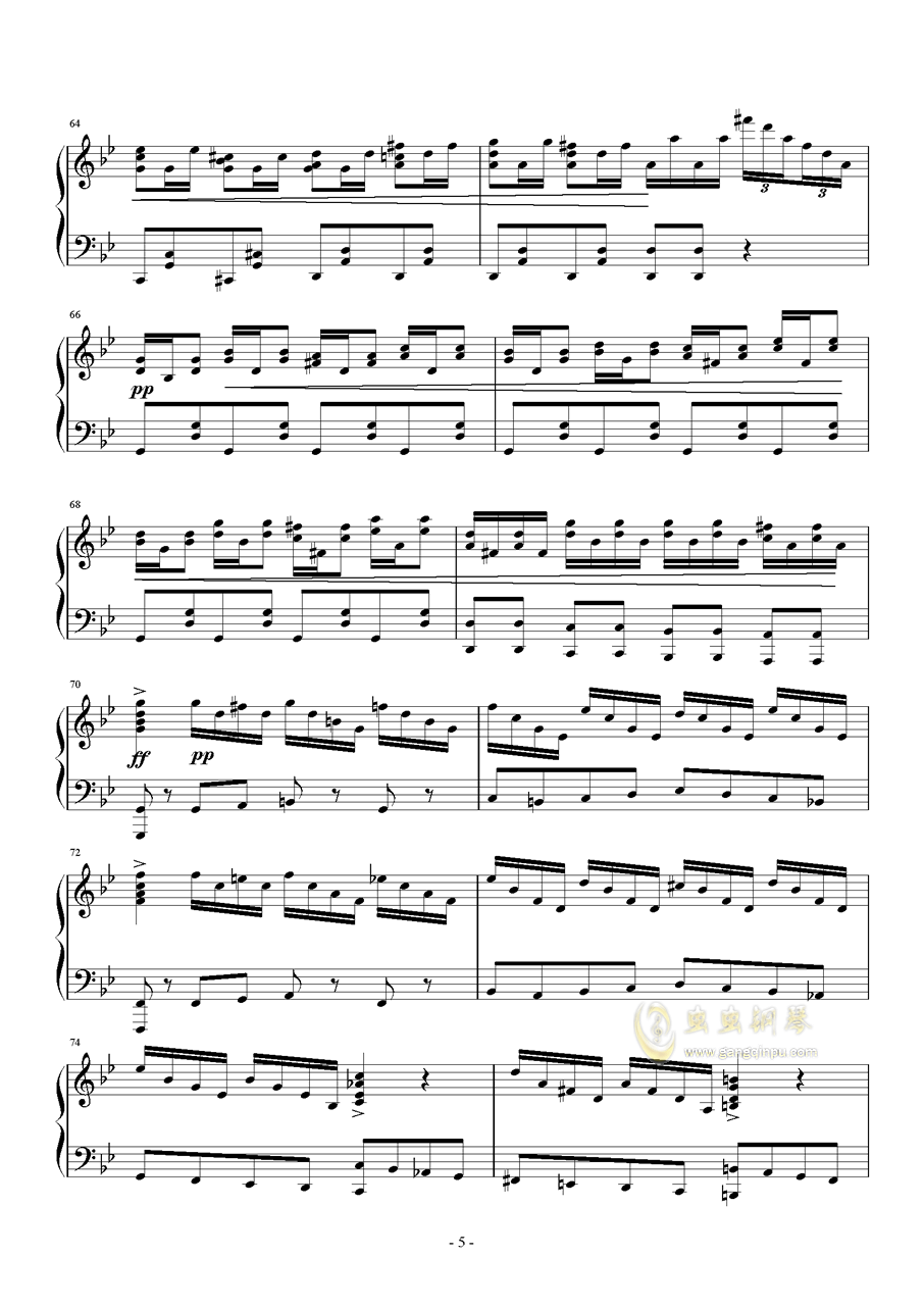 ANiMA钢琴谱 第5页