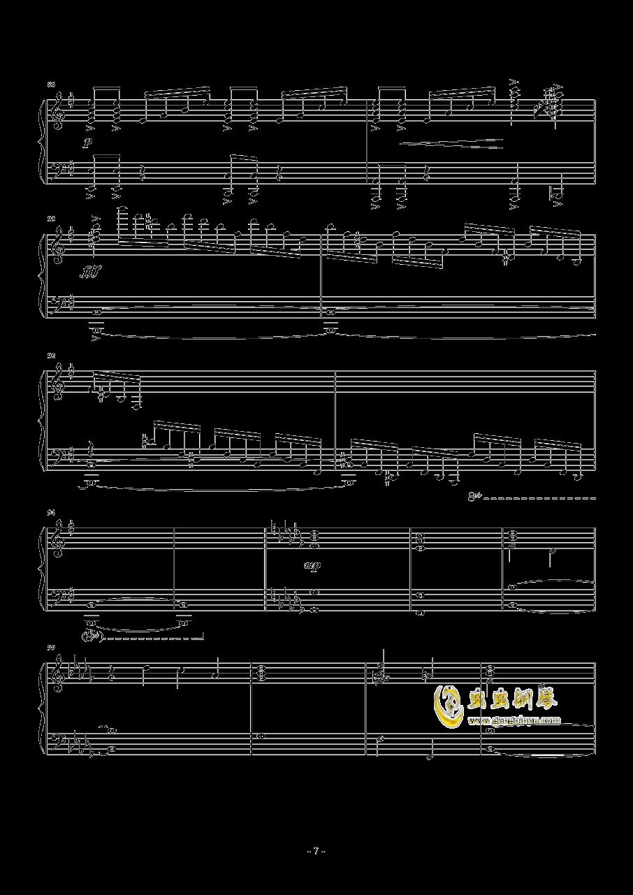 ANiMA钢琴谱 第7页