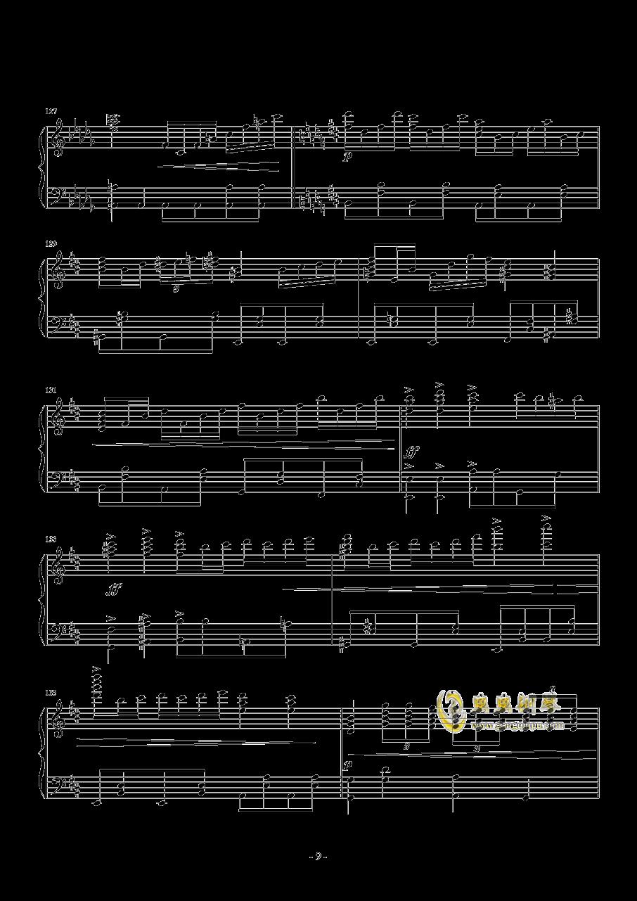 ANiMA钢琴谱 第9页