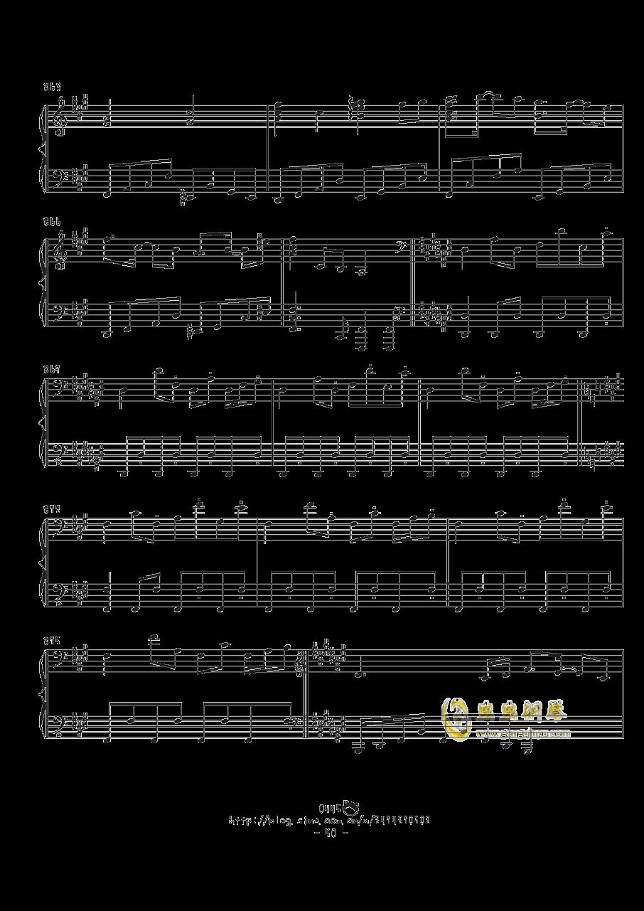 幻想游戏钢琴谱 第50页