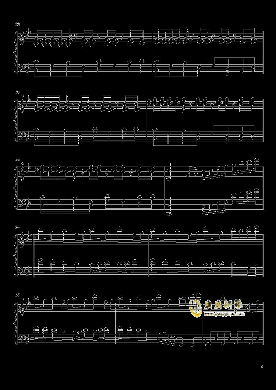 白龙少年钢琴谱 第3页