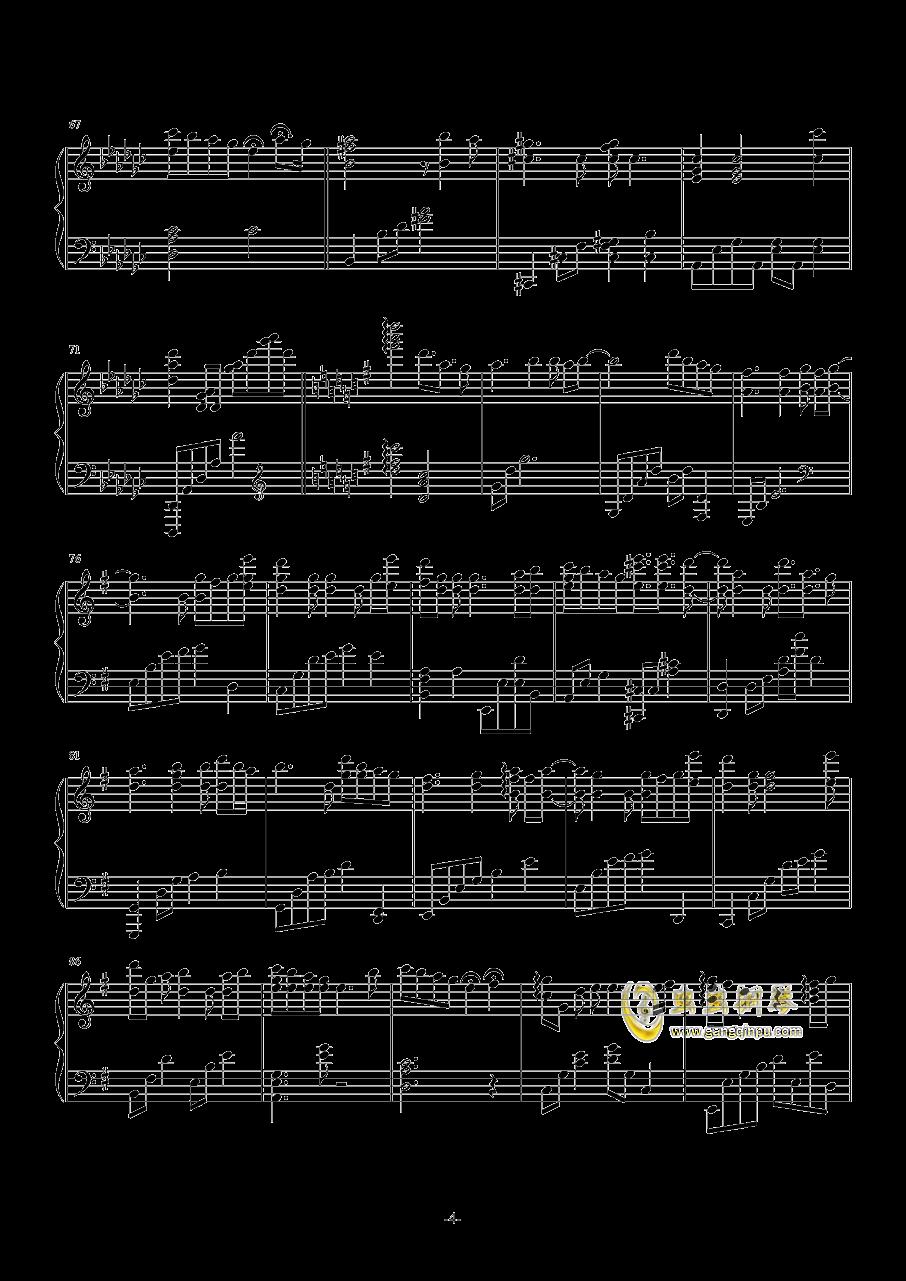 心有独钟钢琴谱 第4页