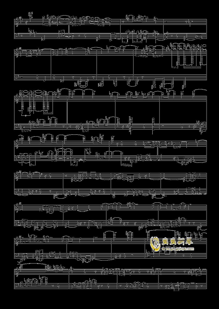 斯巴达克斯钢琴谱 第3页