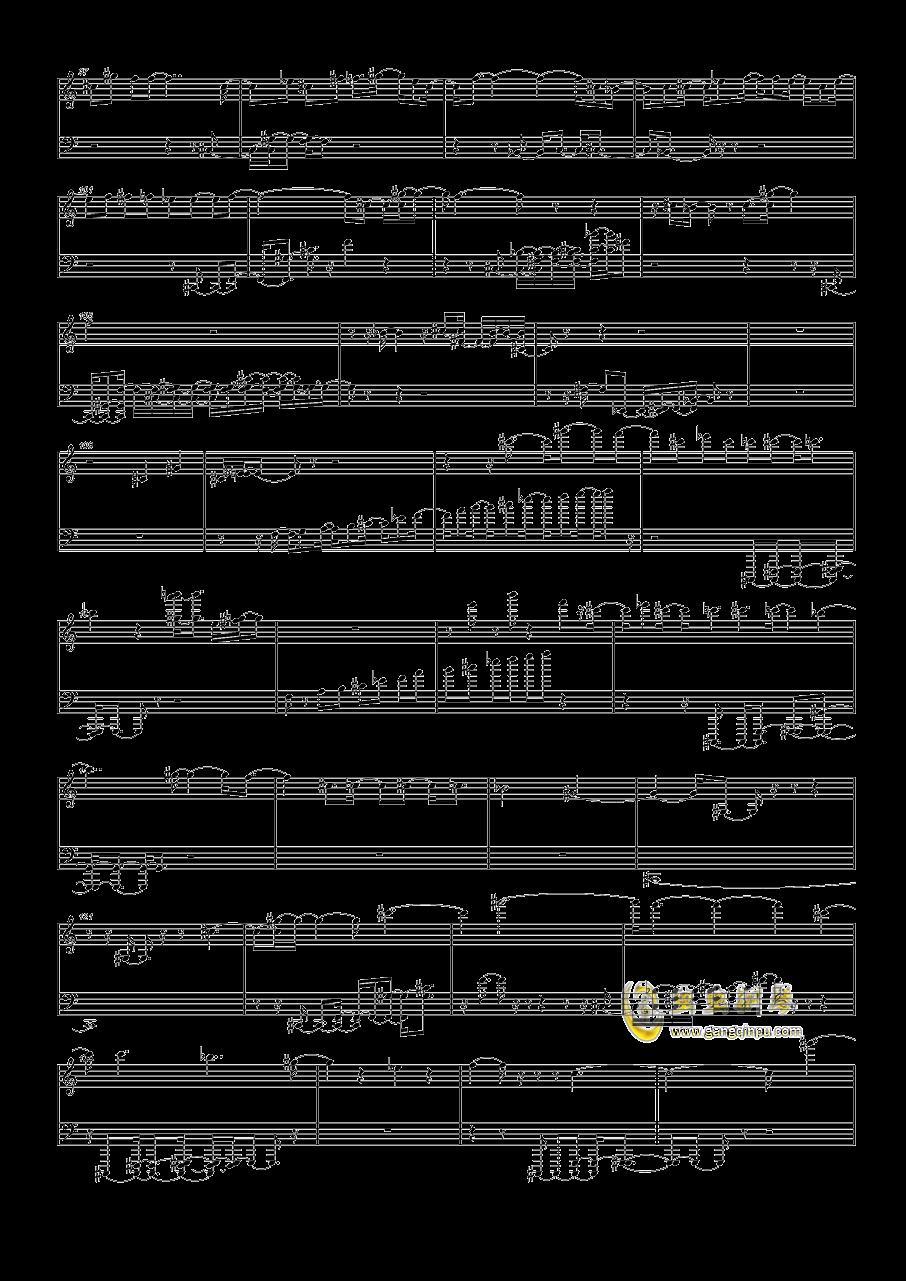 斯巴达克斯钢琴谱 第4页