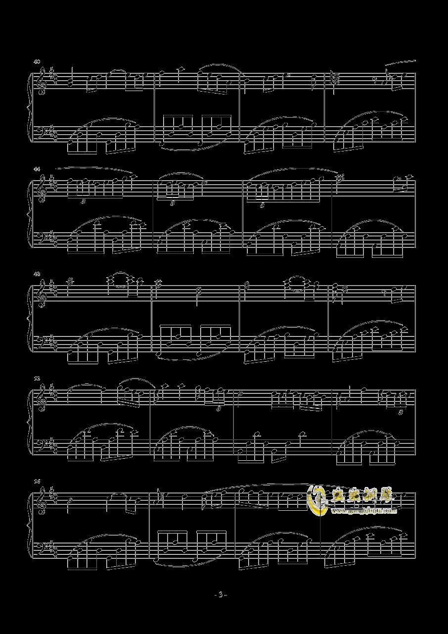 你好甜钢琴谱 第3页
