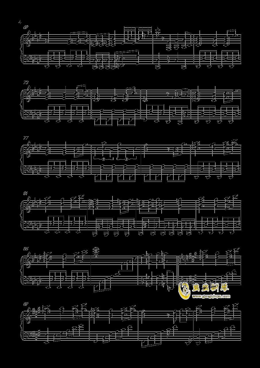 風神少女钢琴谱 第4页