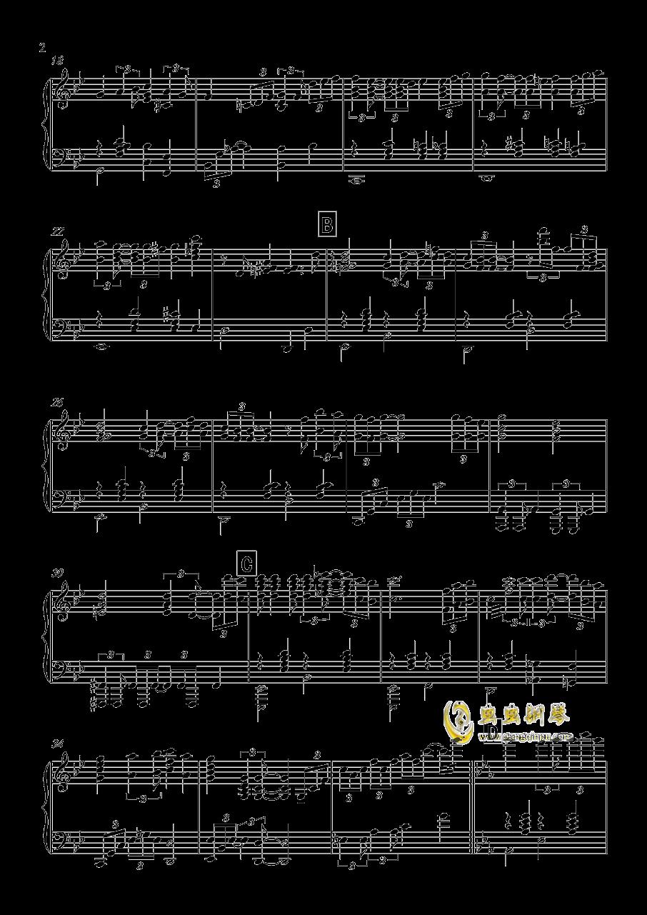 Capriccio grottesca钢琴谱 第2页
