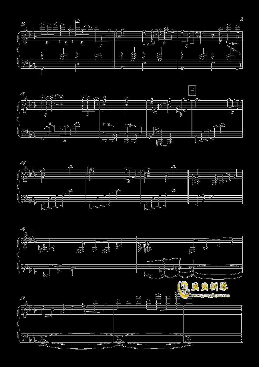 Capriccio grottesca钢琴谱 第3页