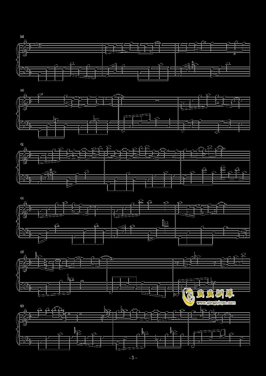 直到那一天钢琴谱 第3页