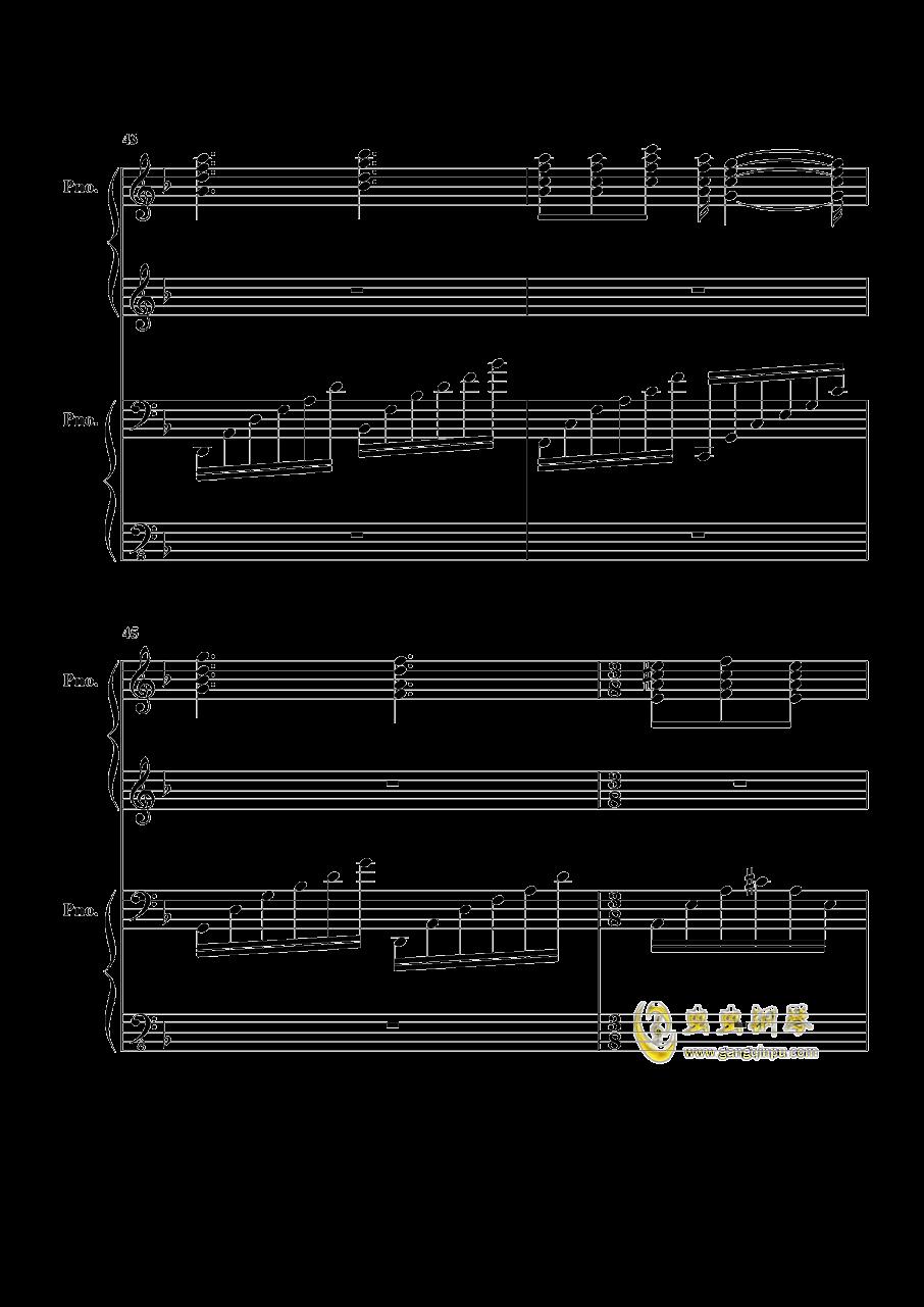 加勒比海盗钢琴谱 第11页