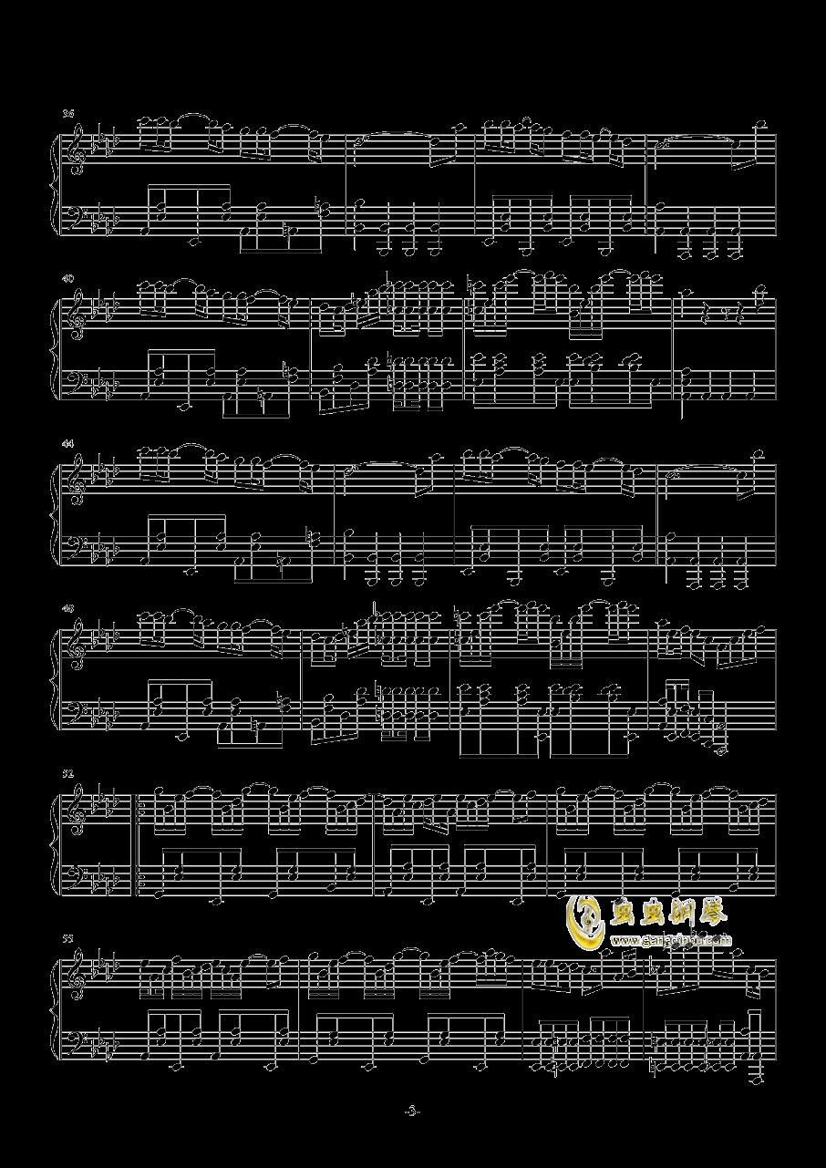 library rag钢琴谱 第3页