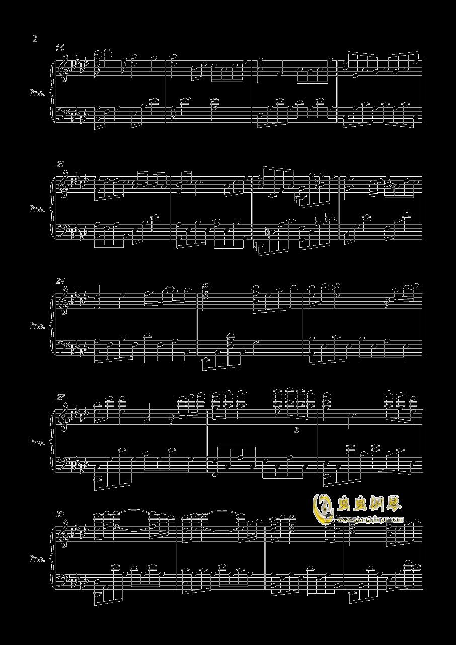 Kiss the rain钢琴谱 第2页