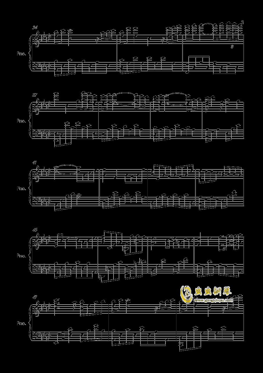 kisstherain曲谱-钢琴谱 kiss rain