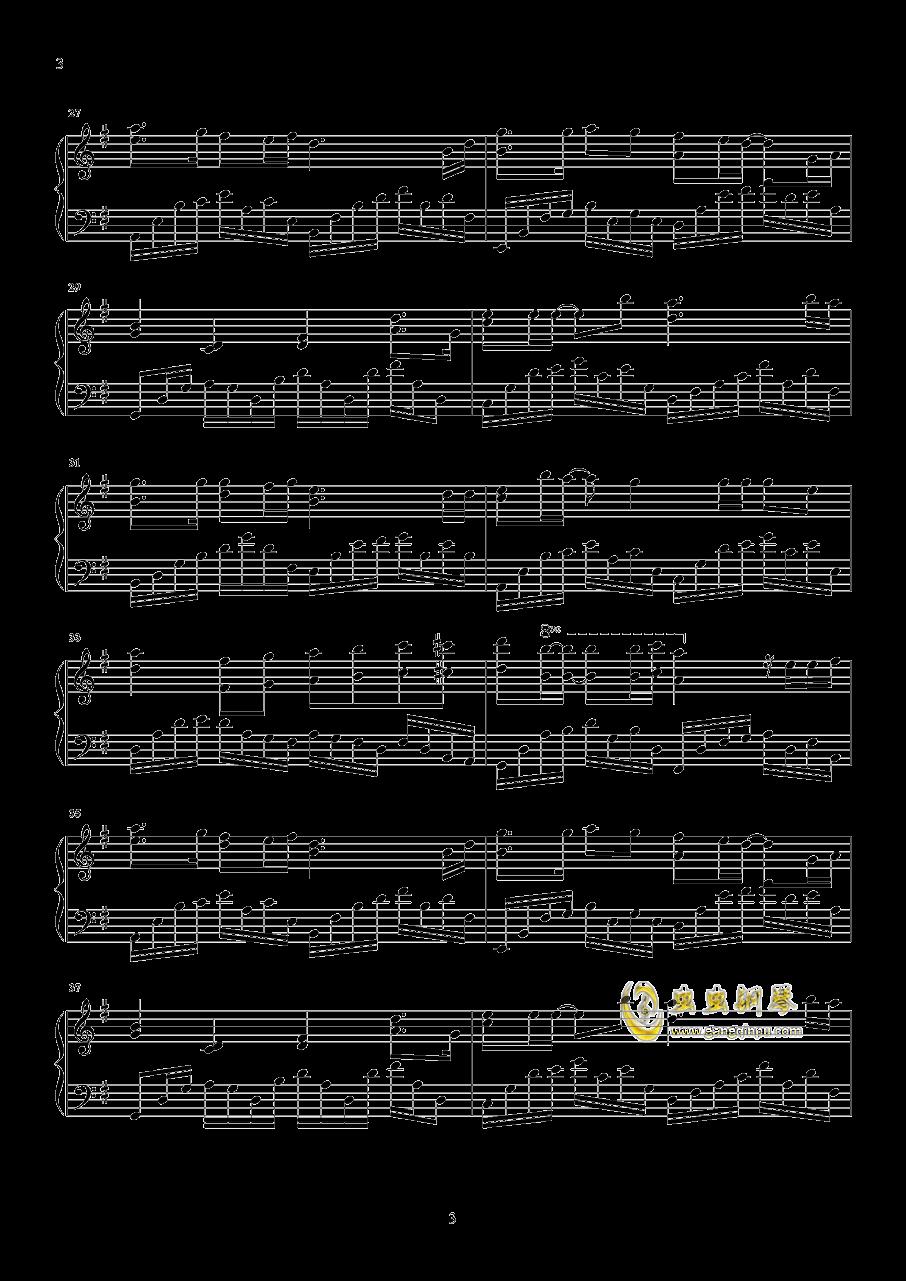 以后的以后钢琴谱 第3页