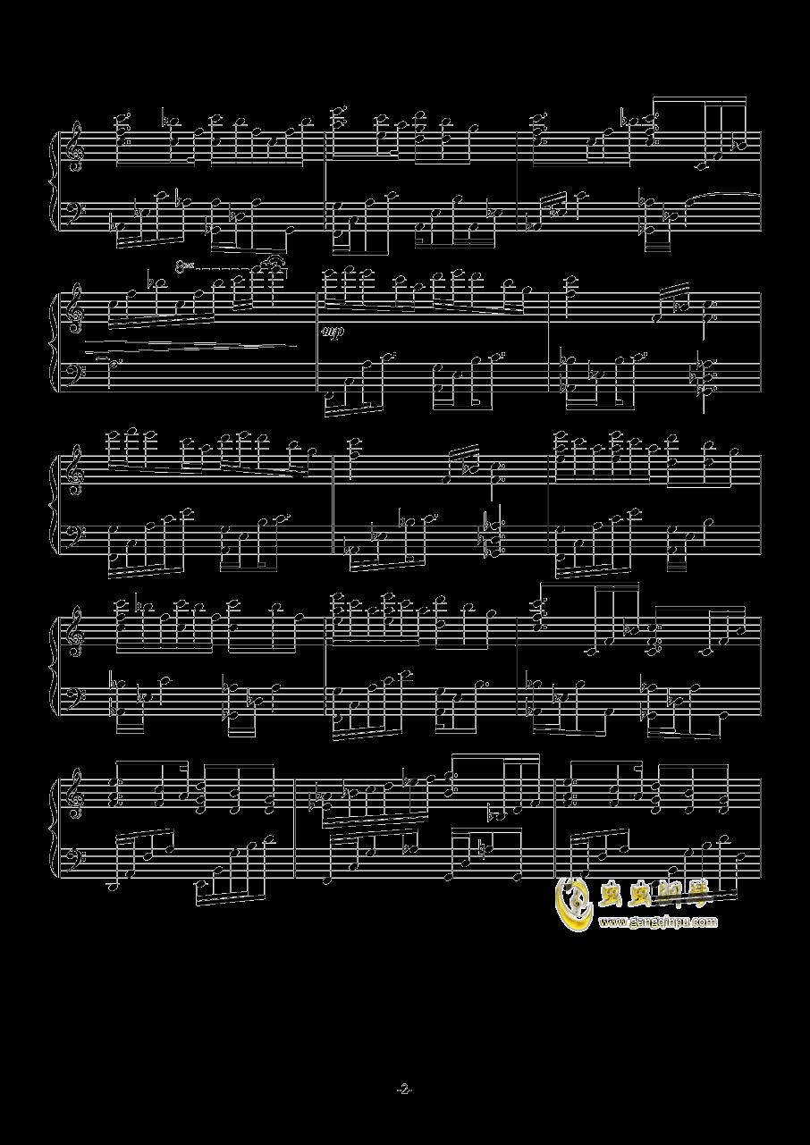 INFINIA钢琴谱 第2页