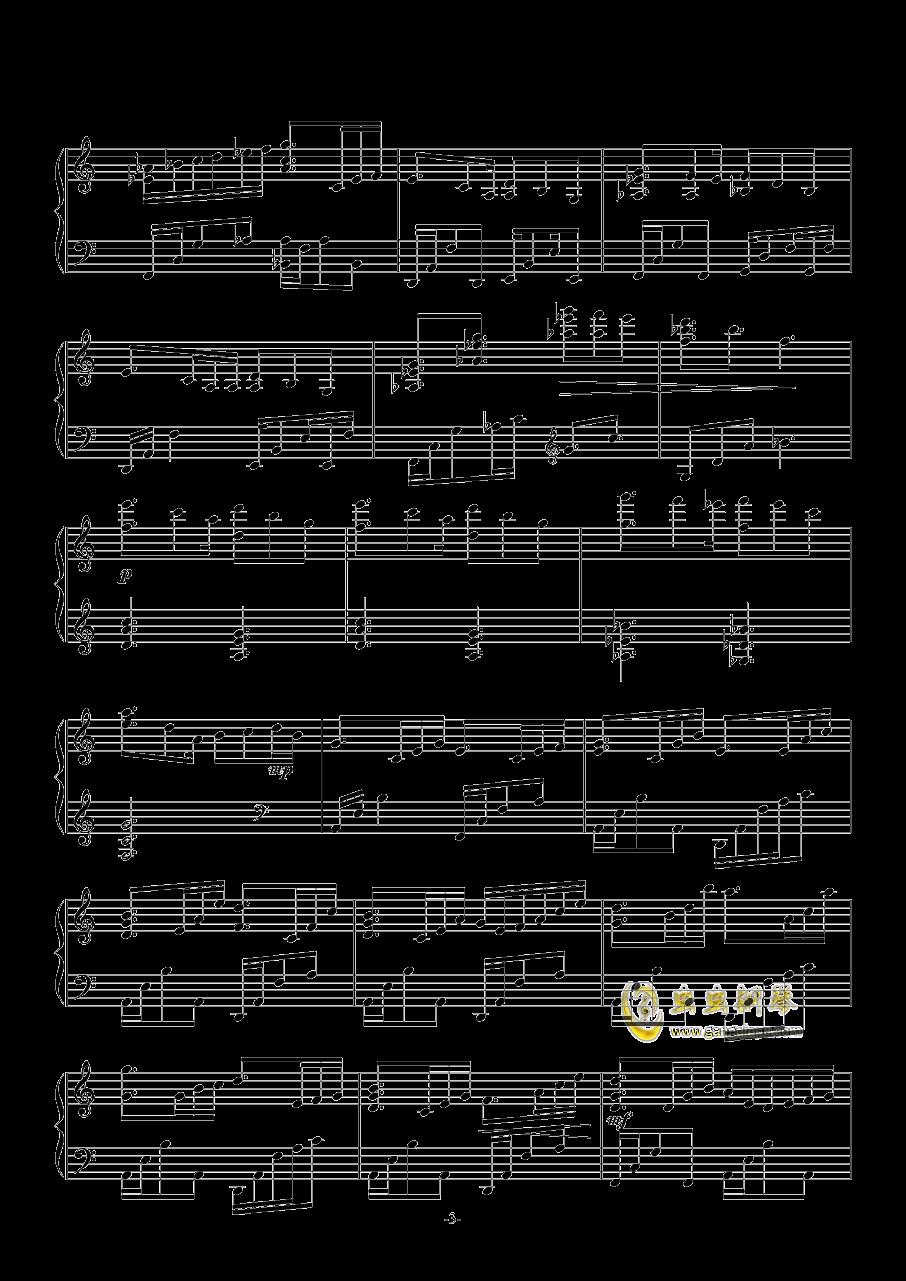 INFINIA钢琴谱 第3页