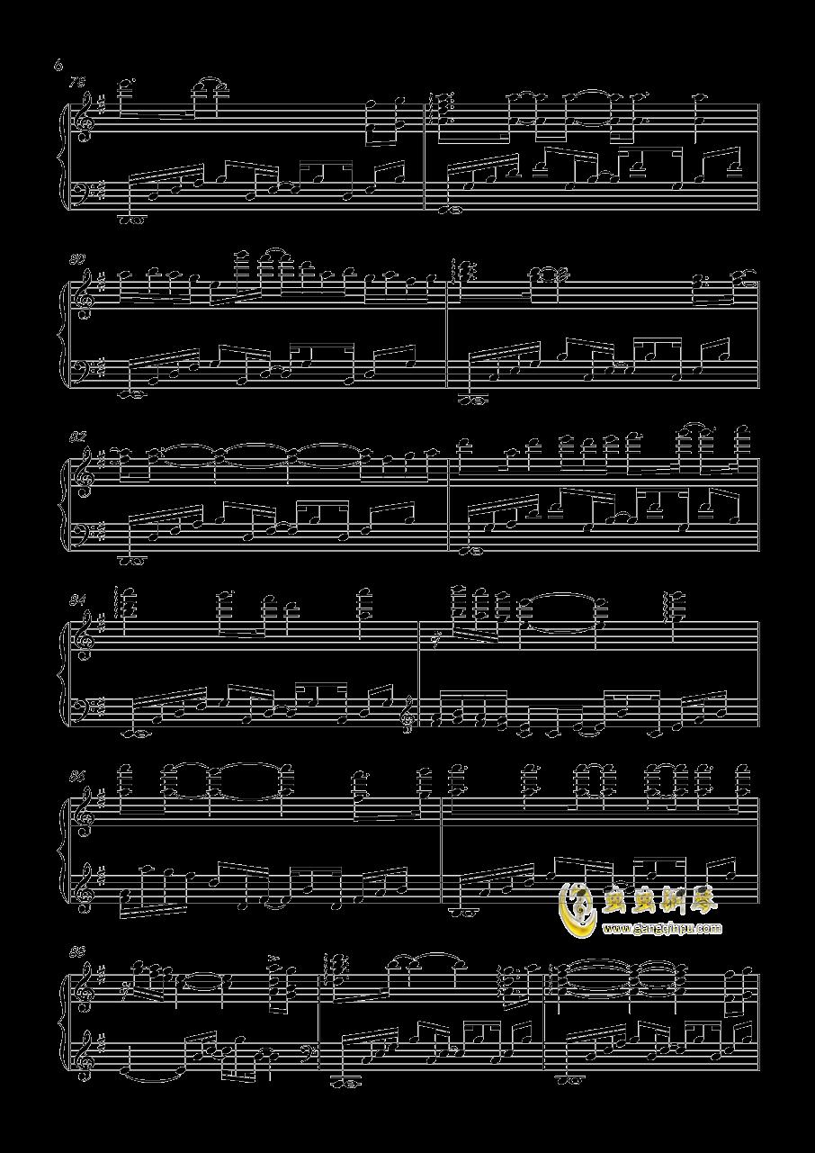 Stay Gold钢琴谱 第6页