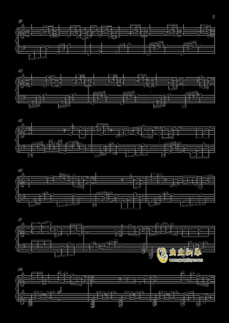 春よ、来い钢琴谱 第3页