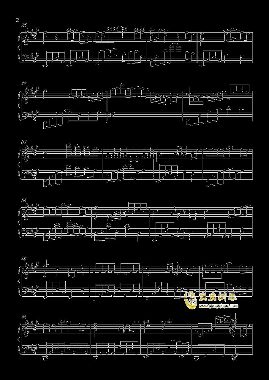 一番�_��な私を钢琴谱 第2页