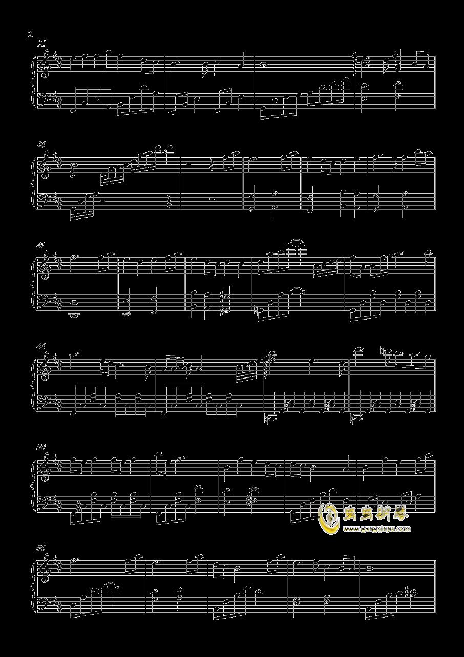 微笑みの彼方钢琴谱 第2页