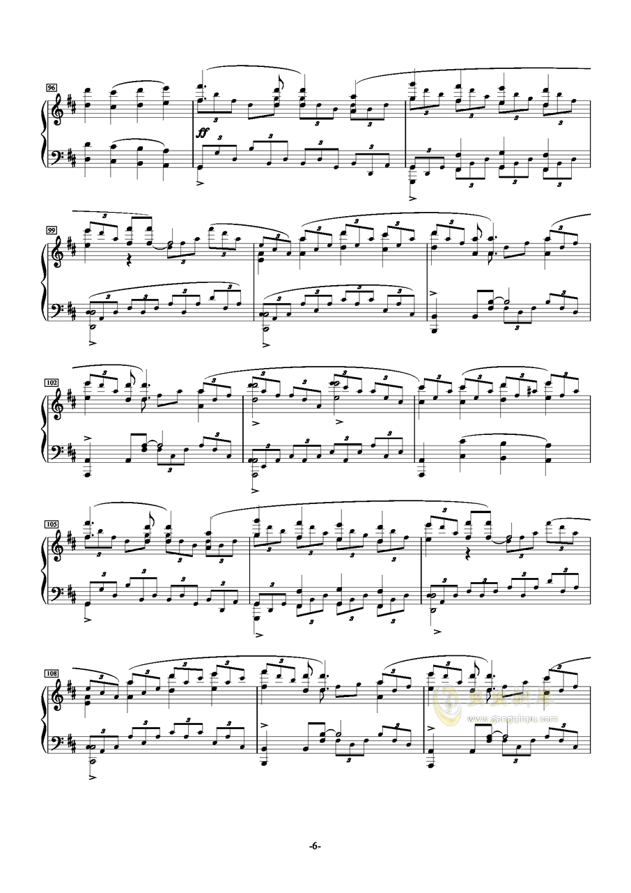 MELT(メルト)钢琴谱 第6页
