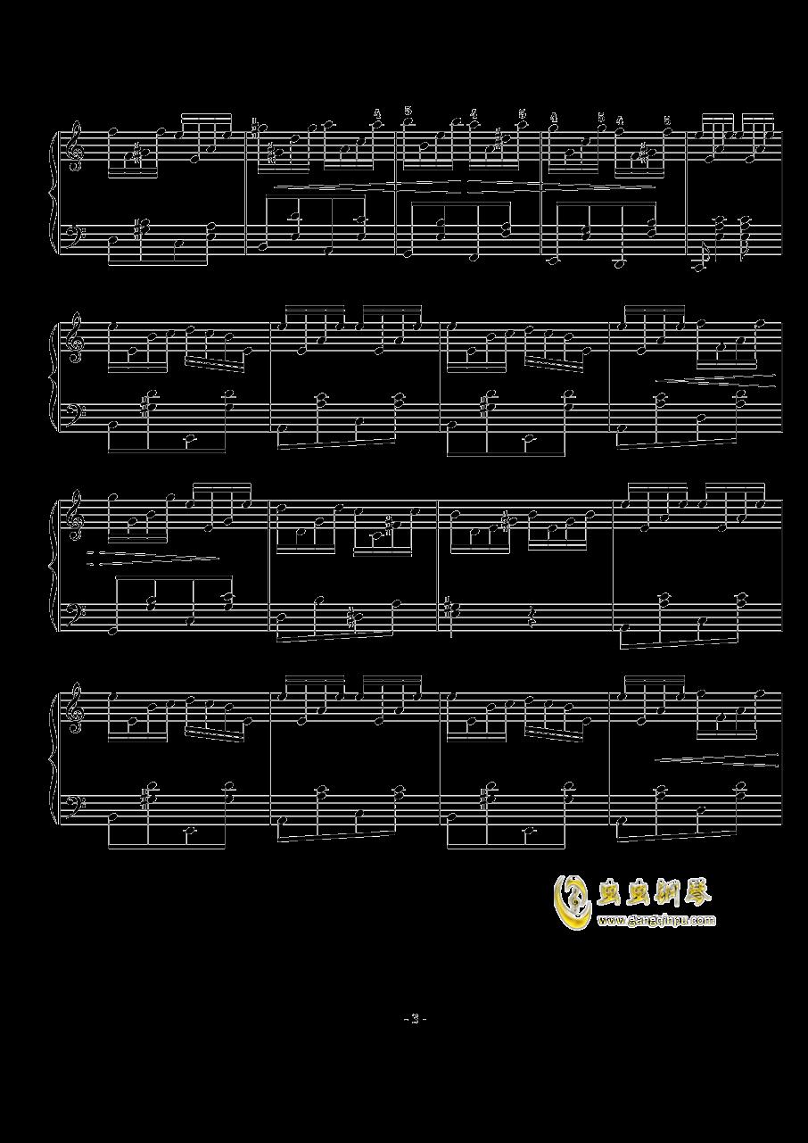 西贝柳斯钢琴谱 第3页