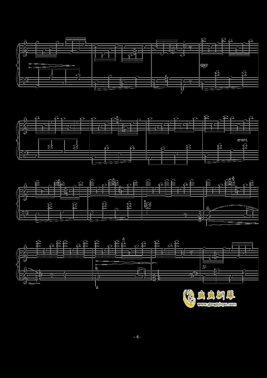 西贝柳斯钢琴谱 第4页
