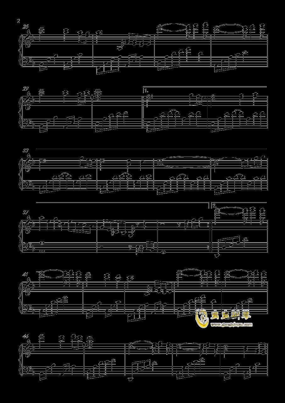 莫召奴钢琴谱 第2页