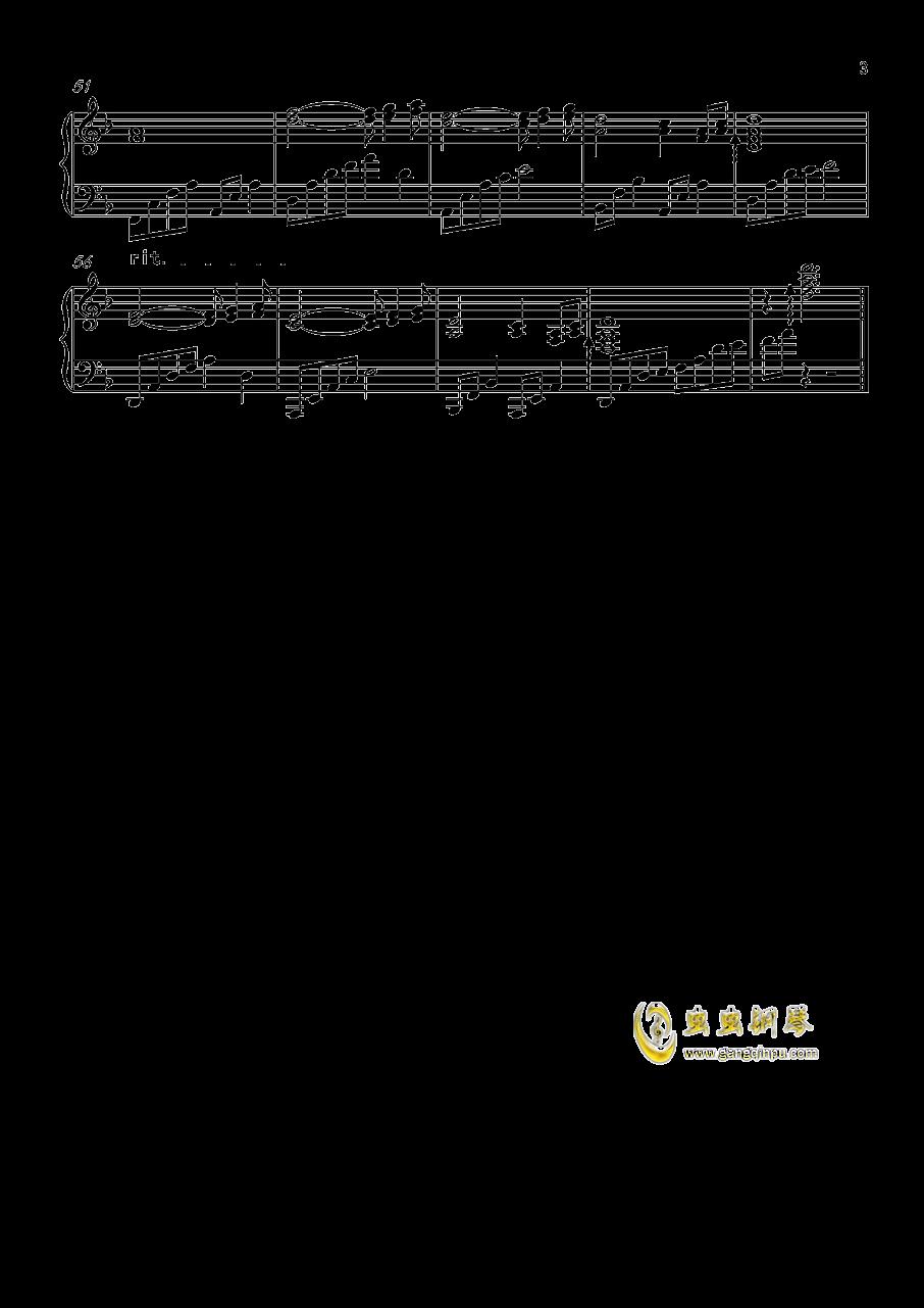 莫召奴钢琴谱 第3页