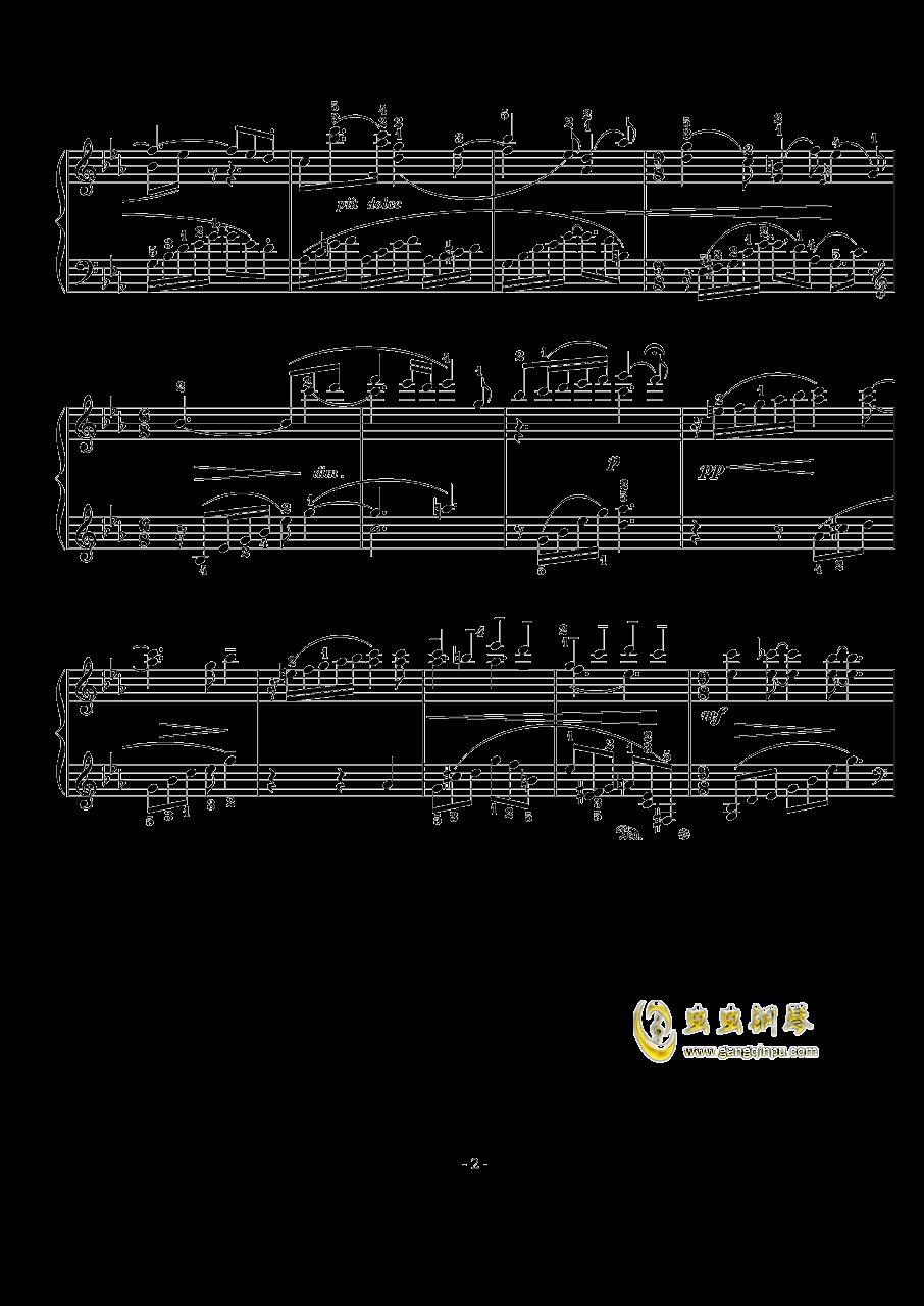 西贝柳斯钢琴谱 第2页