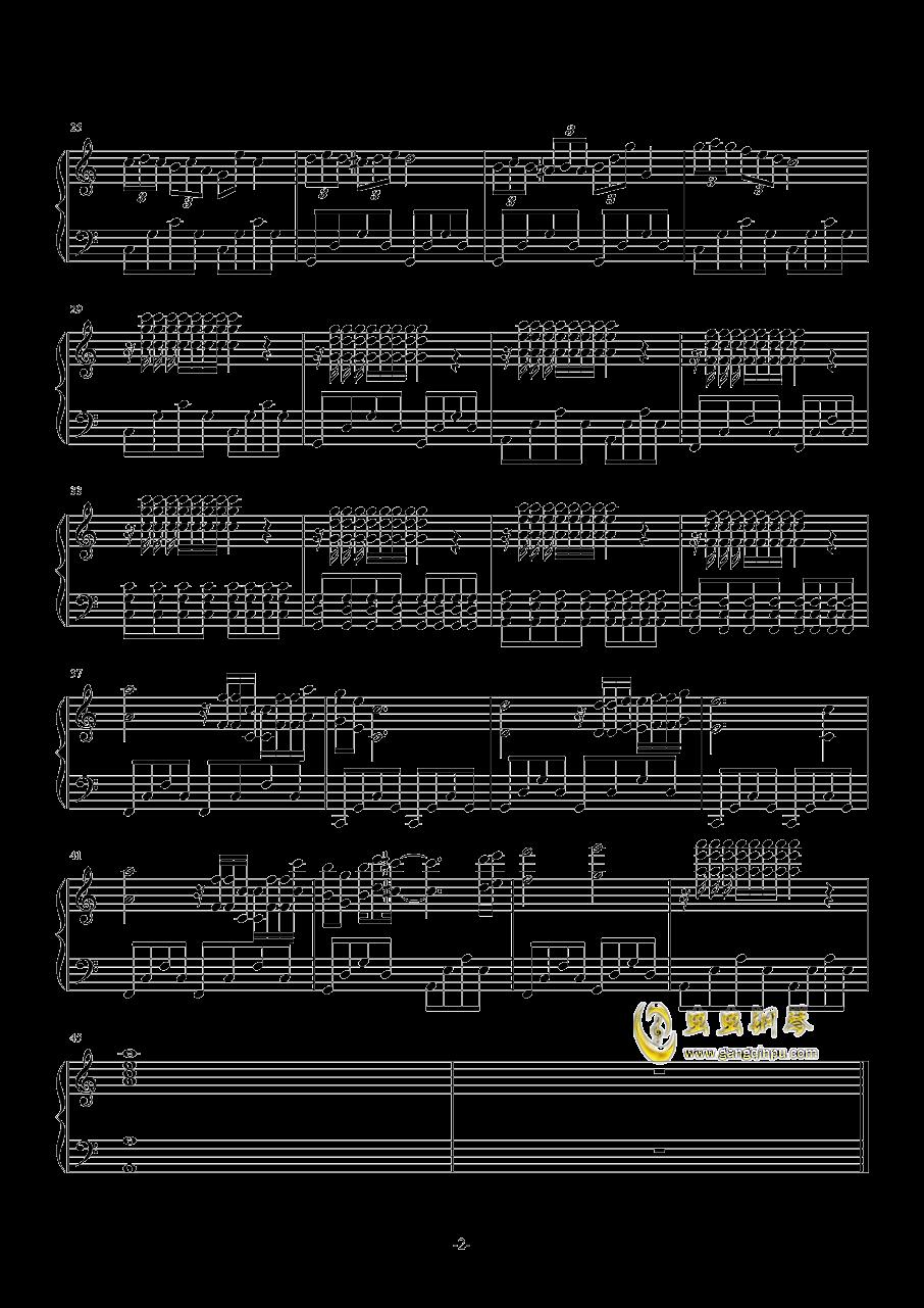 蓝色海洋(2)钢琴谱 第2页