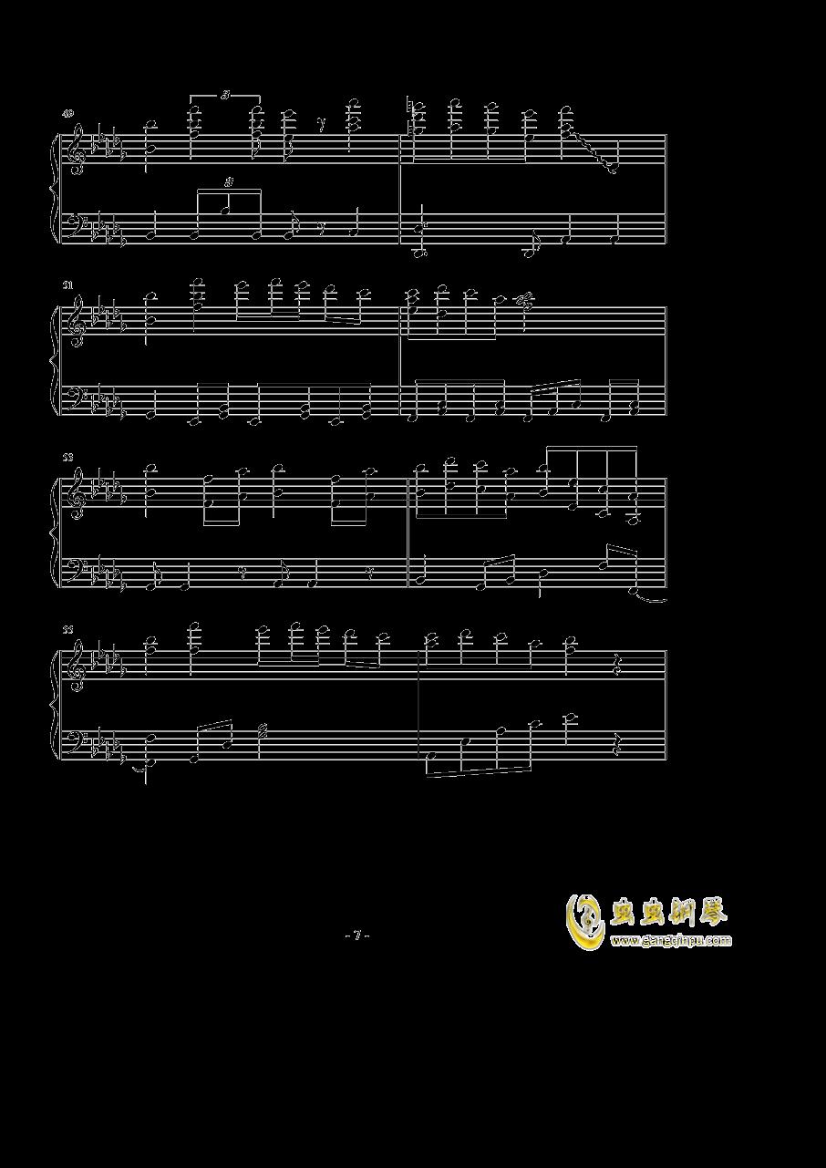 �撑��、�ゆ钢琴谱 第7页
