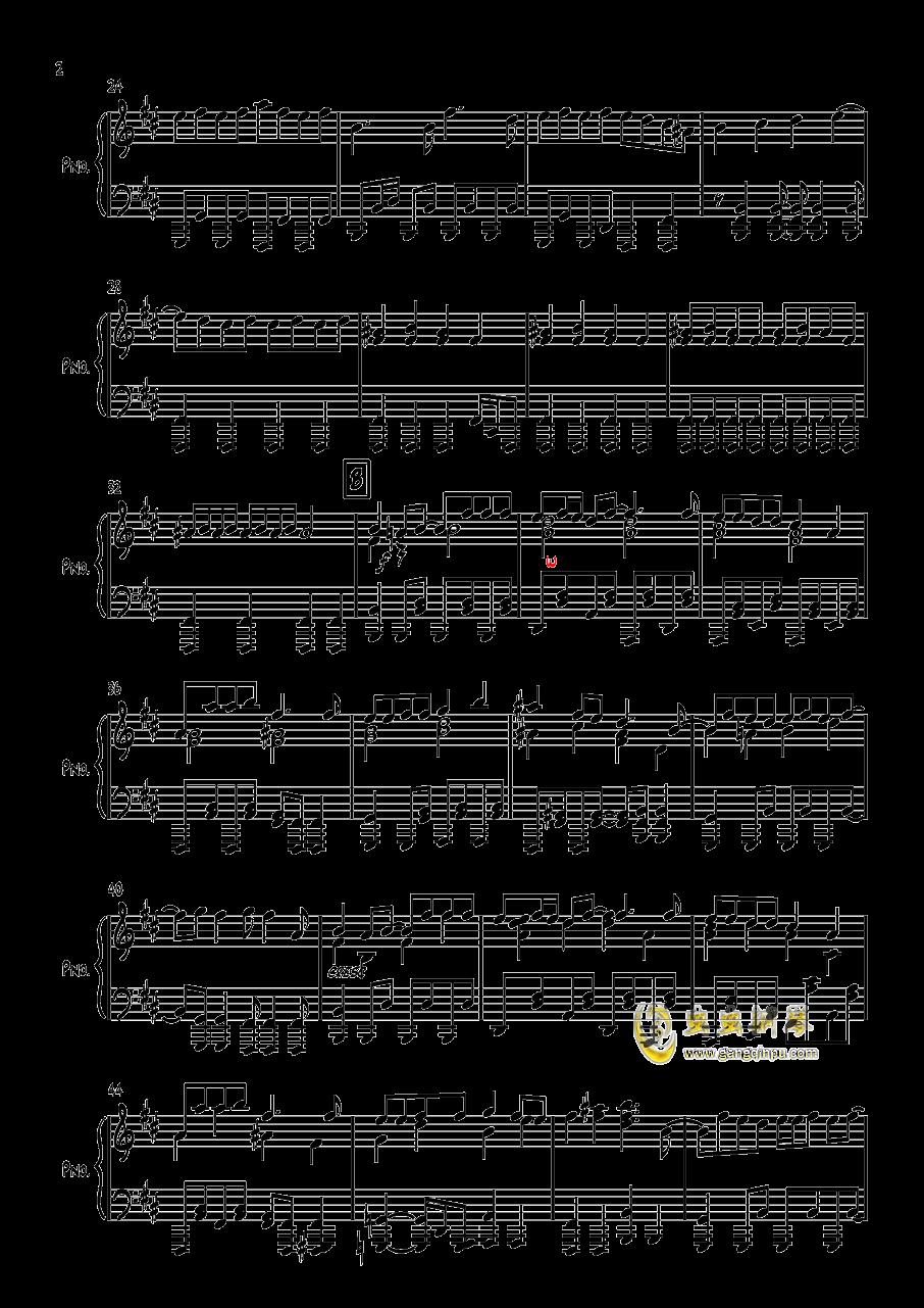 エイリアン钢琴谱 第2页