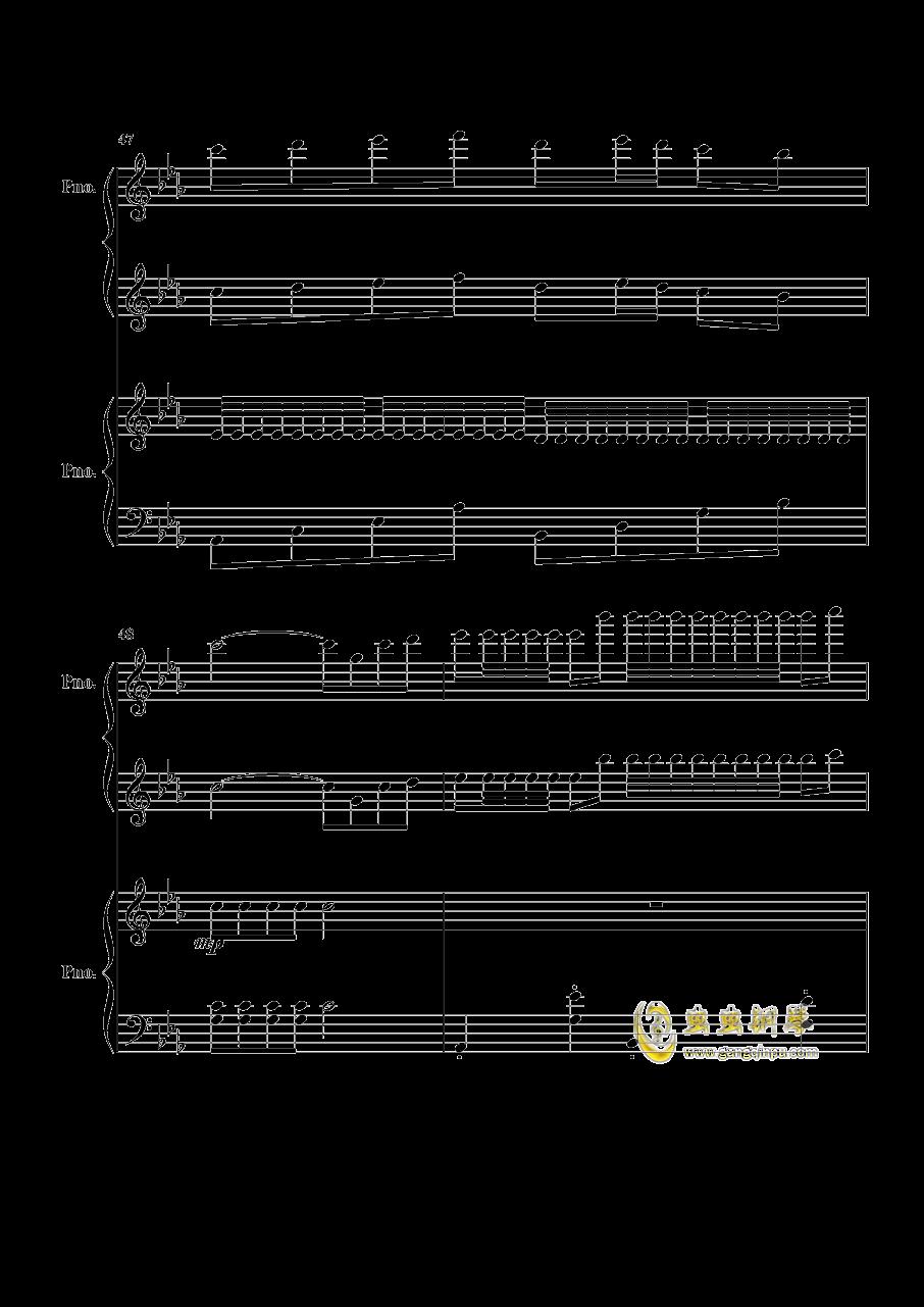 几生欢谱子-欢沁 两架钢琴,欢沁 两架钢琴钢琴谱,欢沁 两架钢琴钢琴谱网,欢沁