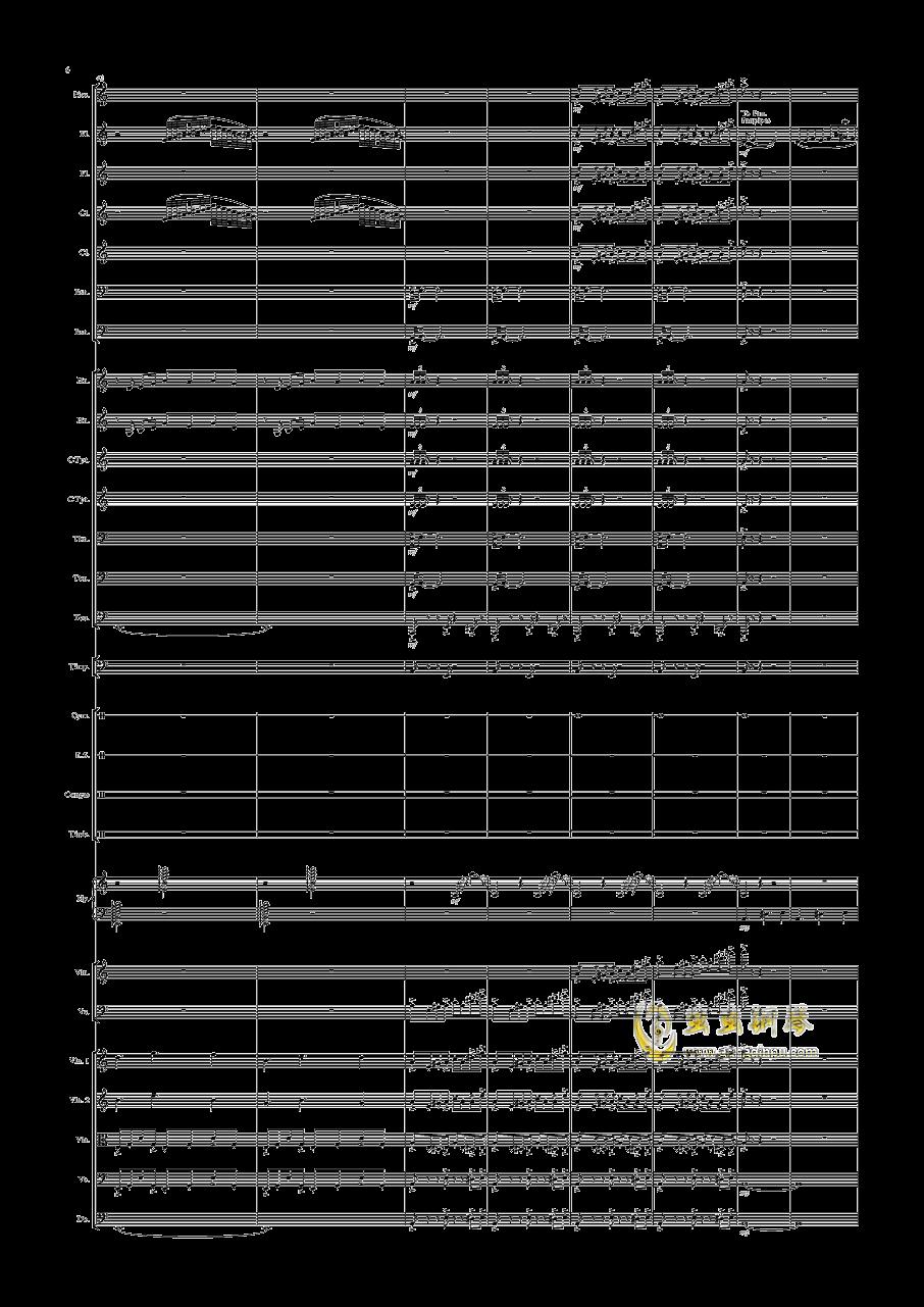 沙漠随想钢琴谱 第6页