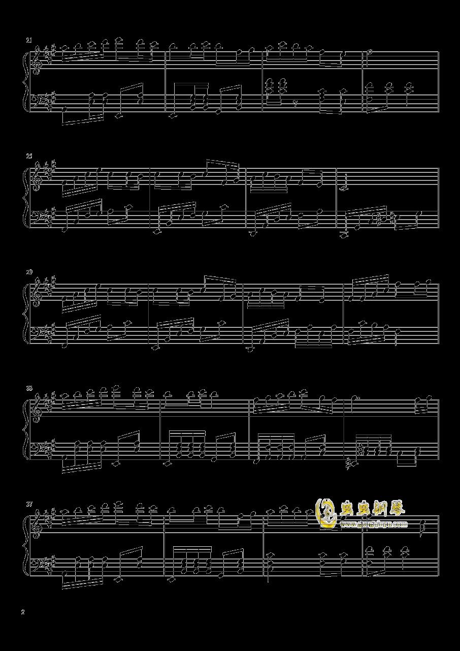 森林狂想曲钢琴谱 第2页