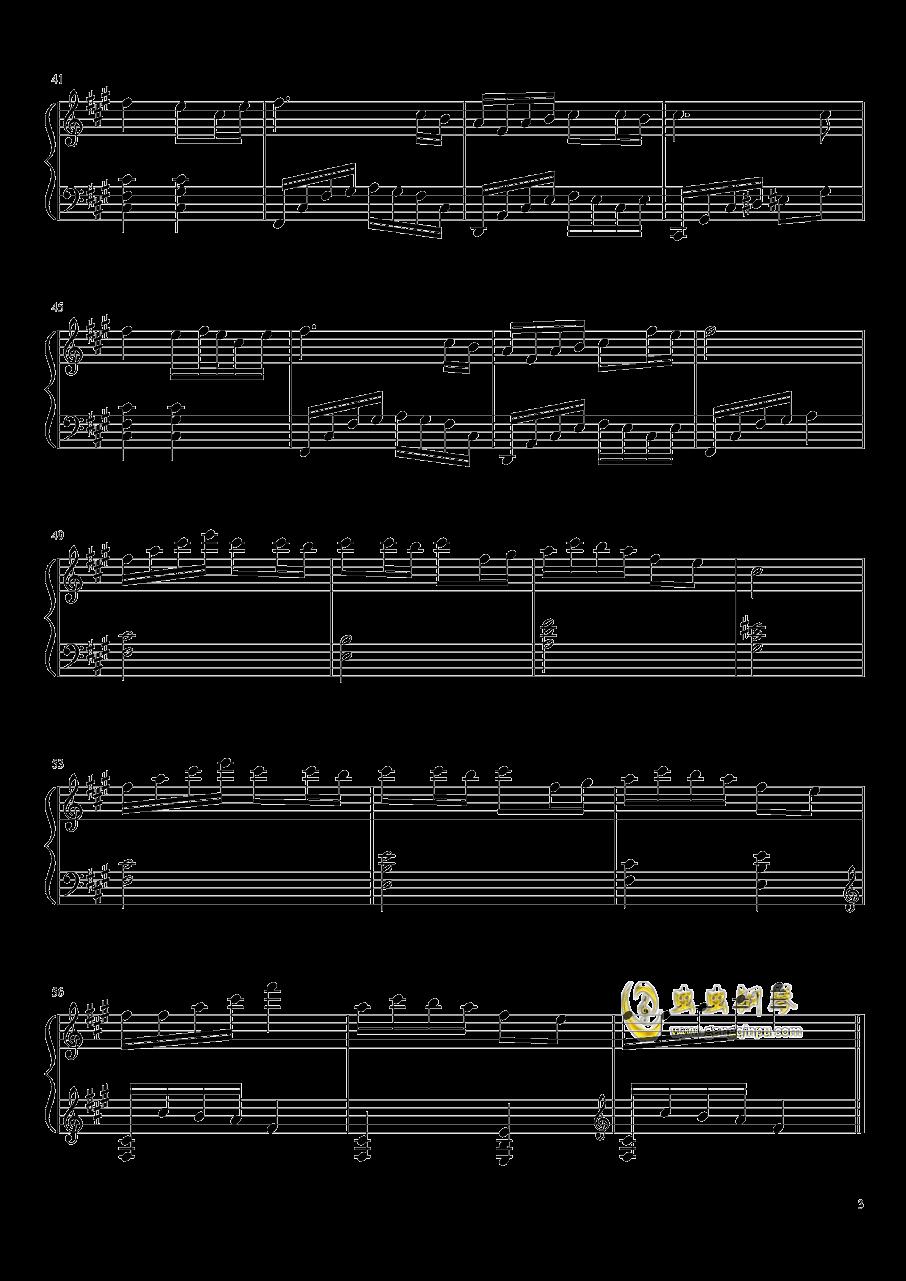 森林狂想曲钢琴谱 第3页