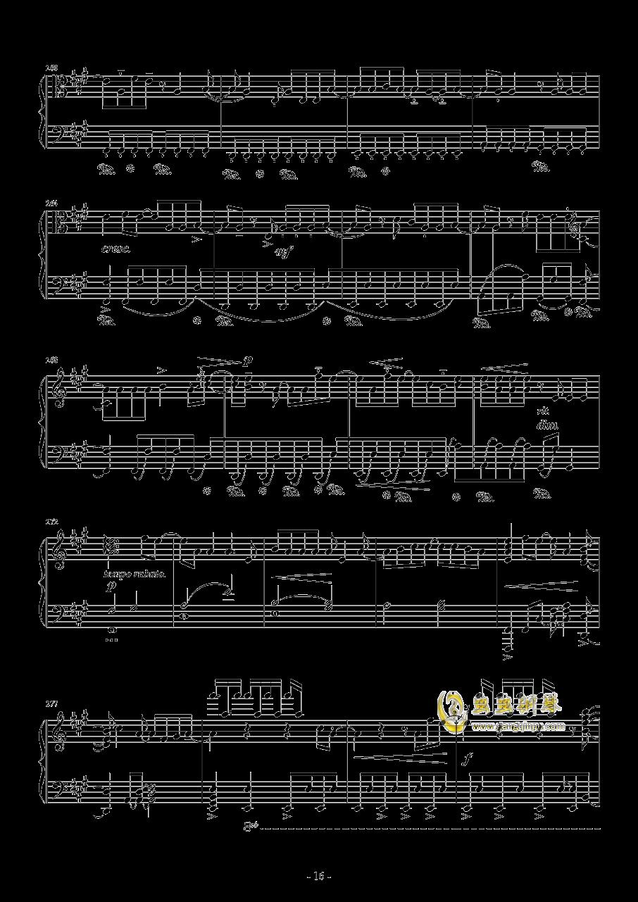 Vocaloid歌曲串烧2017钢琴谱 第16页