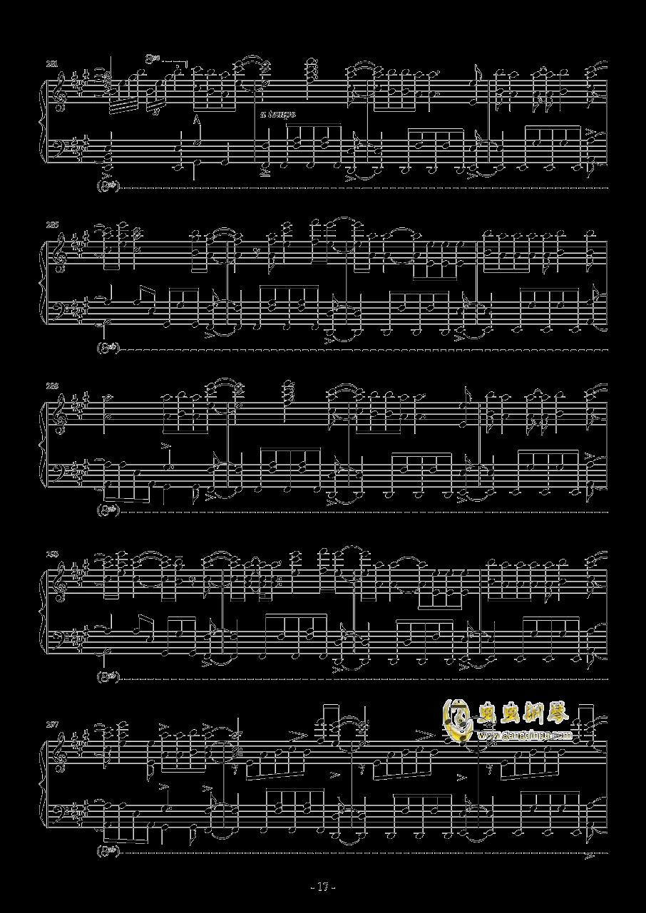 Vocaloid歌曲串烧2017钢琴谱 第17页