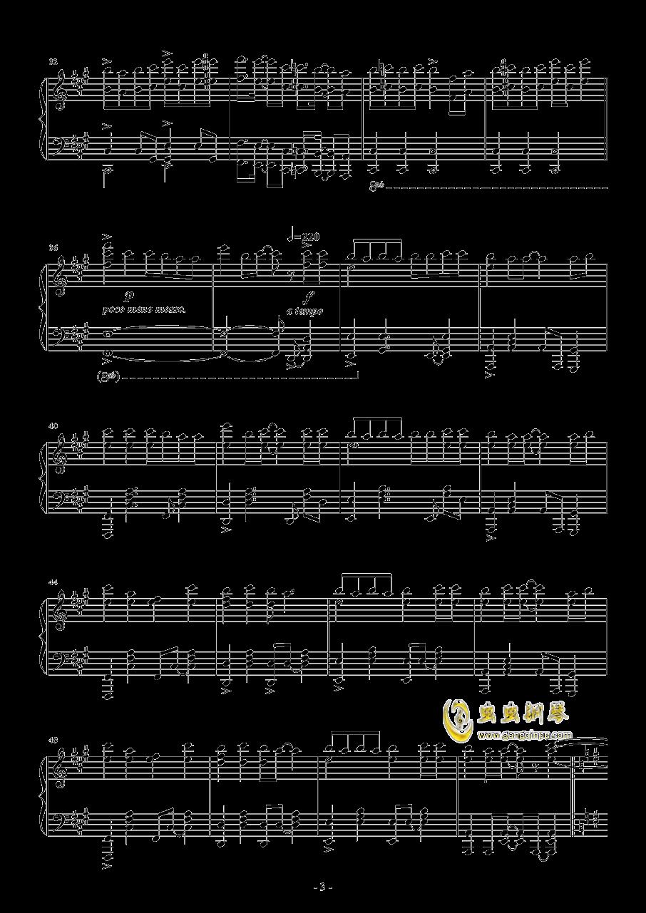 Vocaloid歌曲串烧2017钢琴谱 第3页