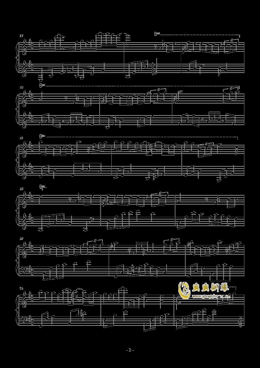 繁......钢琴谱 第2页