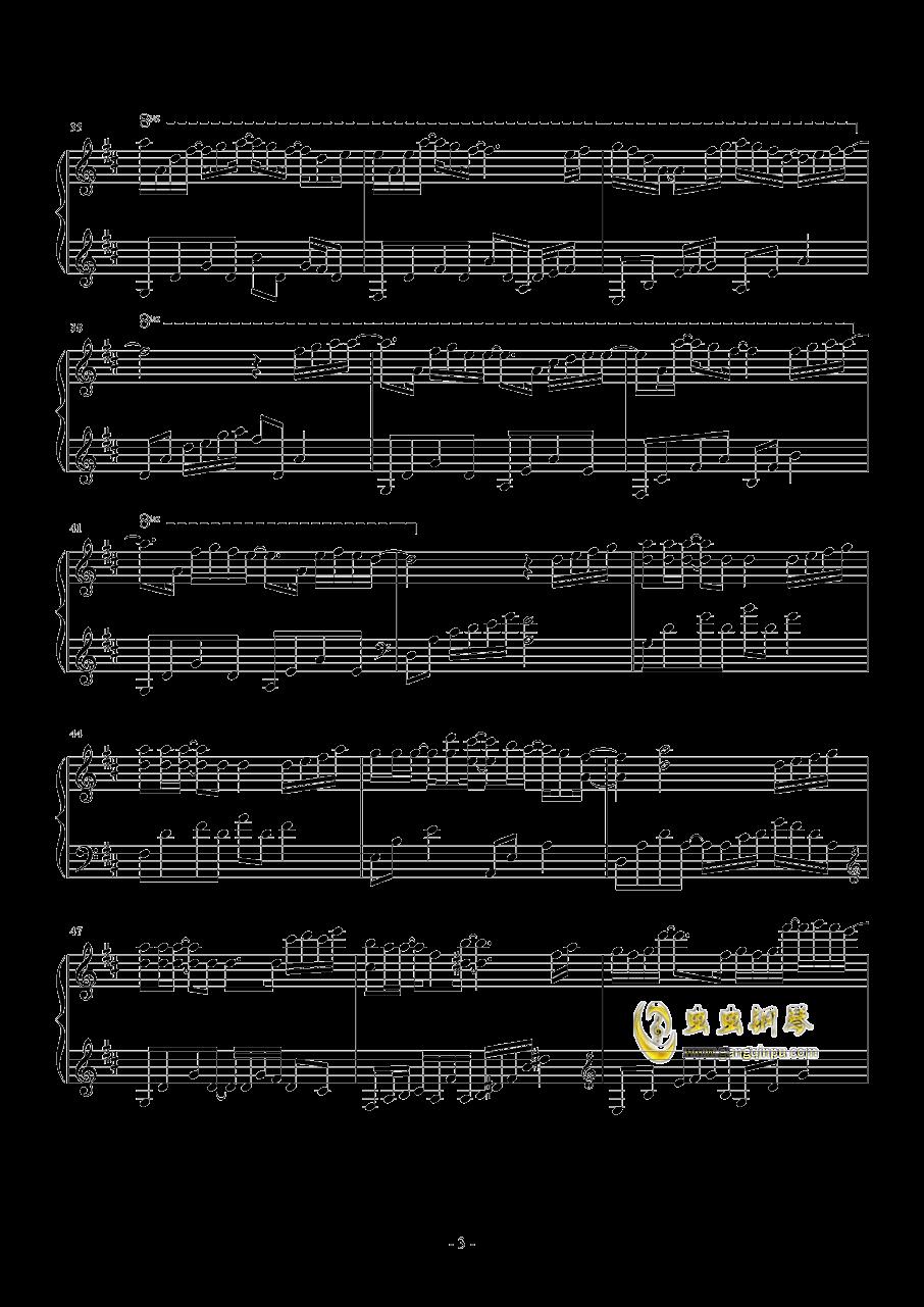 繁......钢琴谱 第3页