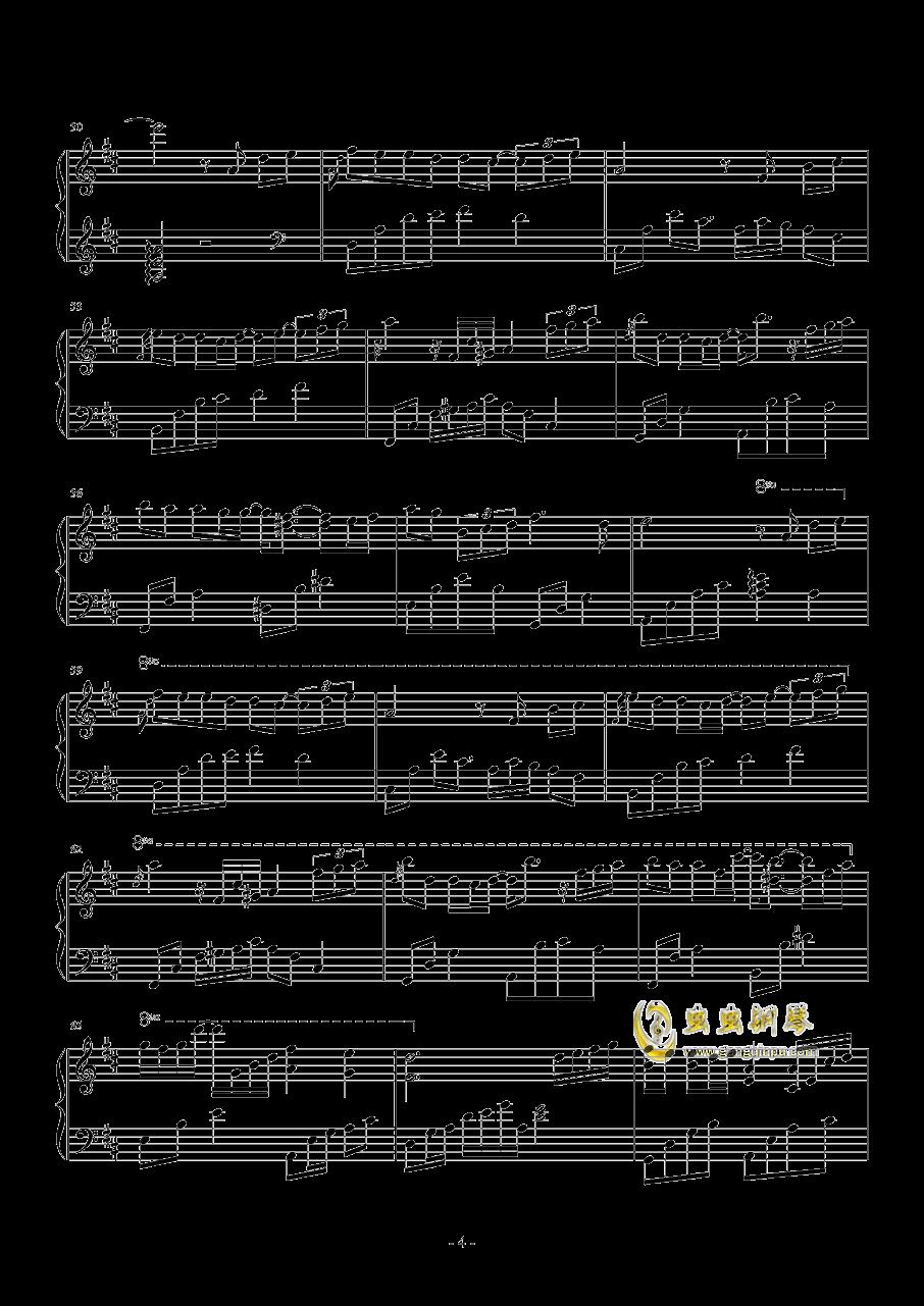 繁......钢琴谱 第4页