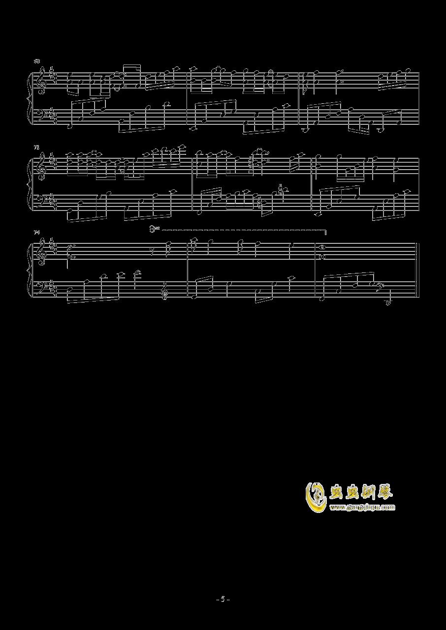 繁......钢琴谱 第5页
