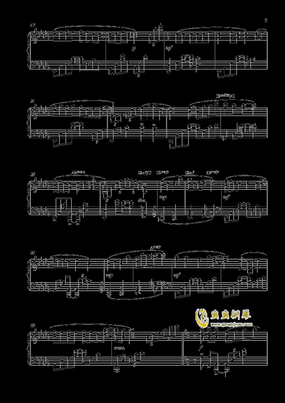 私色ギフト钢琴谱 第3页